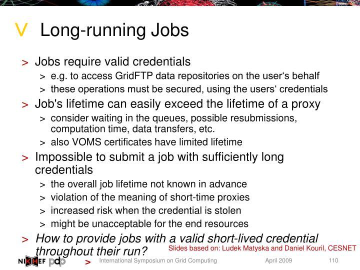 Long-running Jobs