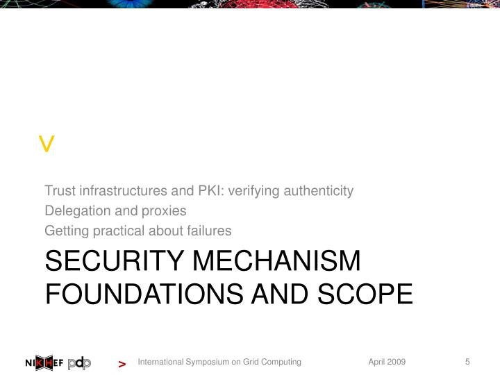 Trust infrastructures and PKI: verifying authenticity