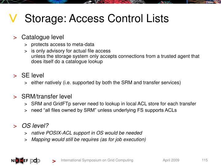 Storage: Access