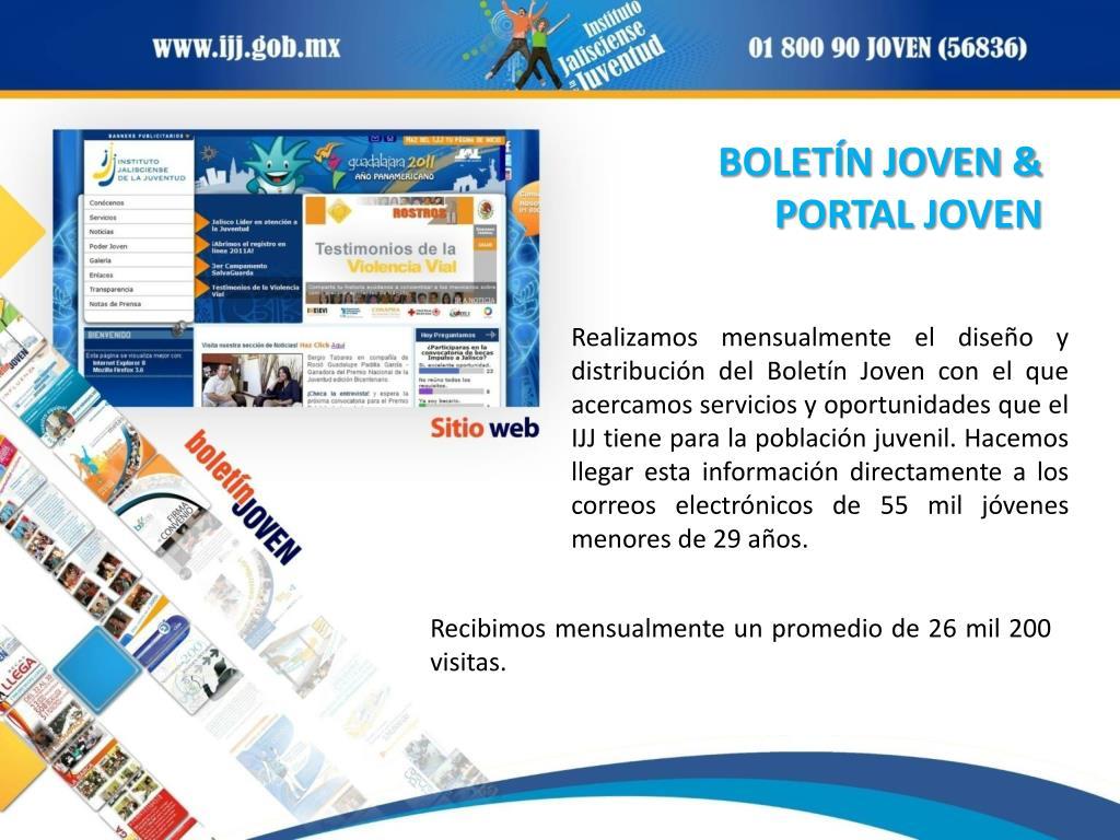 BOLETÍN JOVEN &