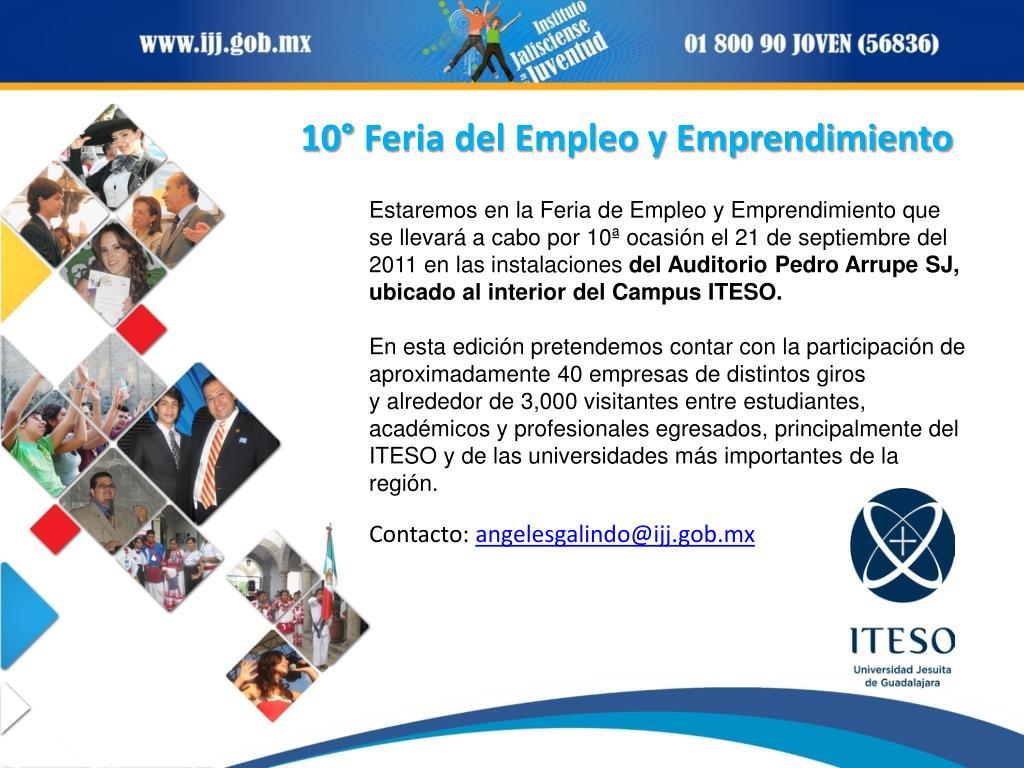 10° Feria del Empleo y Emprendimiento