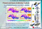 present and future of altimetry multi mission altimetry