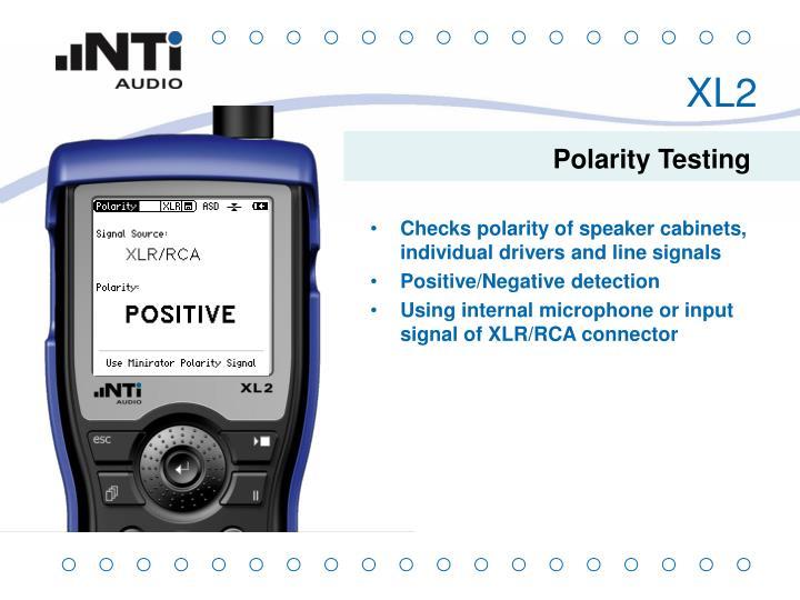 Polarity Testing