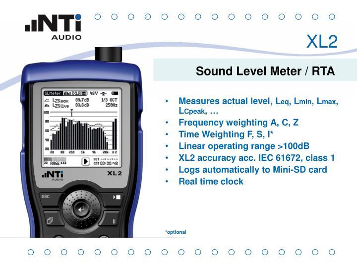 Sound Level Meter / RTA