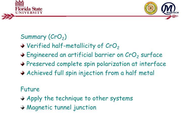 Summary (CrO