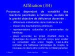 affiliation 3 4