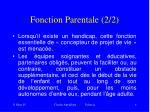 fonction parentale 2 2