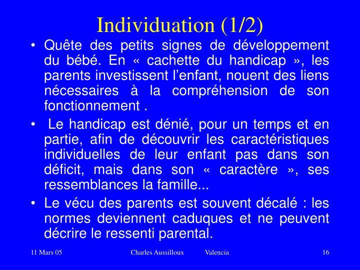 Individuation (1/2)