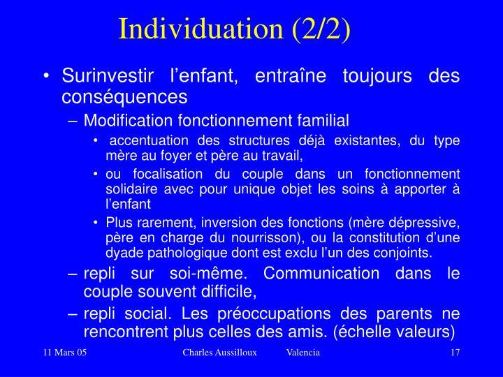 Individuation (2/2)