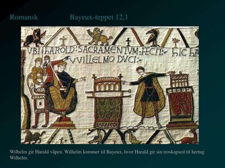 Bayeux-teppet 12,1