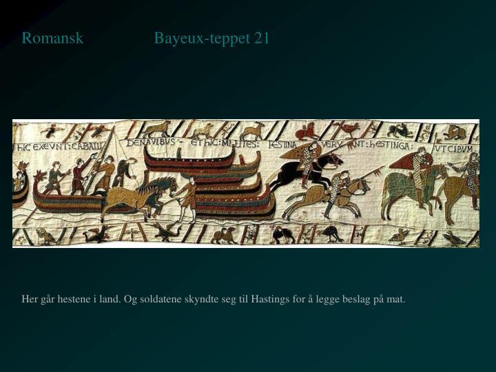Bayeux-teppet 21
