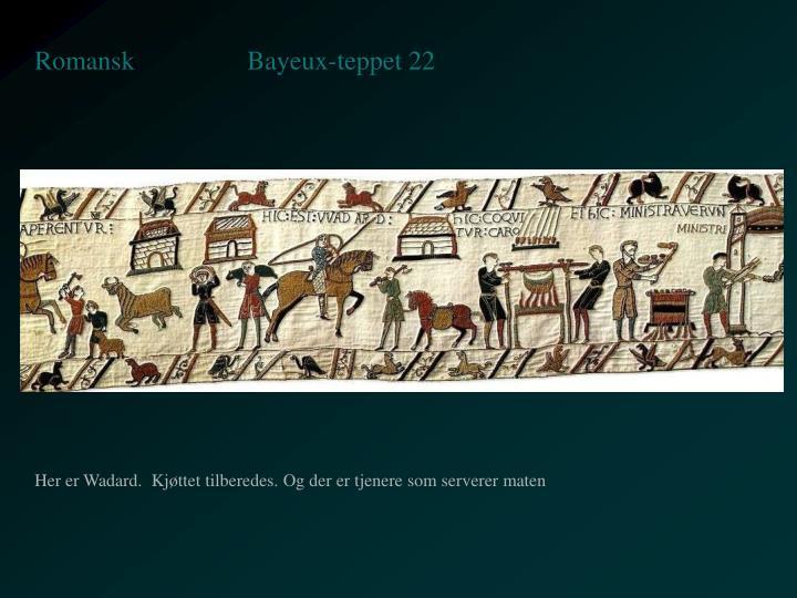Bayeux-teppet 22