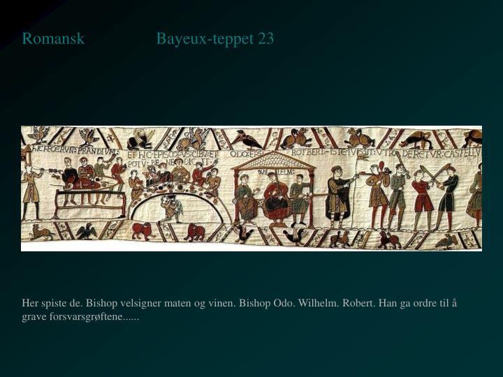 Bayeux-teppet 23