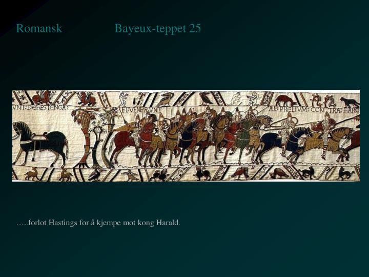 Bayeux-teppet 25