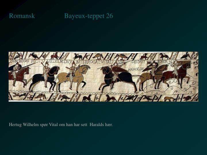 Bayeux-teppet 26