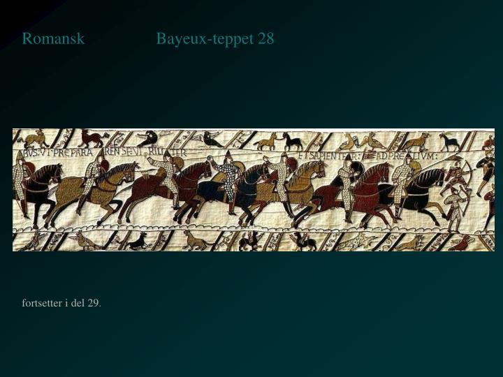 Bayeux-teppet 28