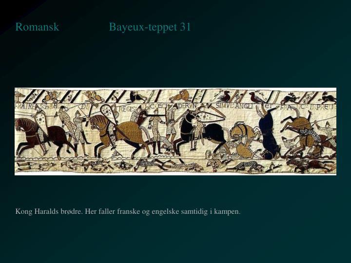 Bayeux-teppet 31