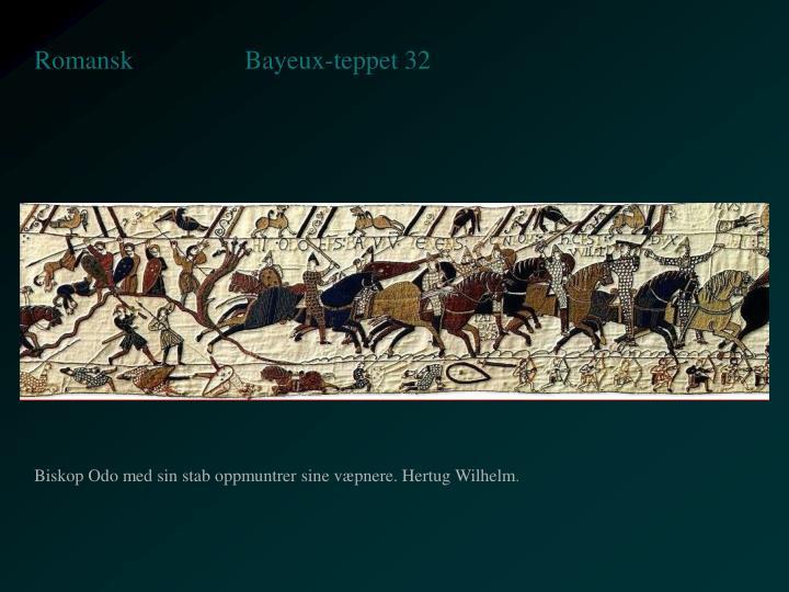 Bayeux-teppet 32