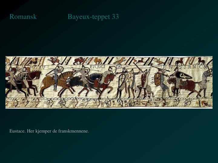 Bayeux-teppet 33