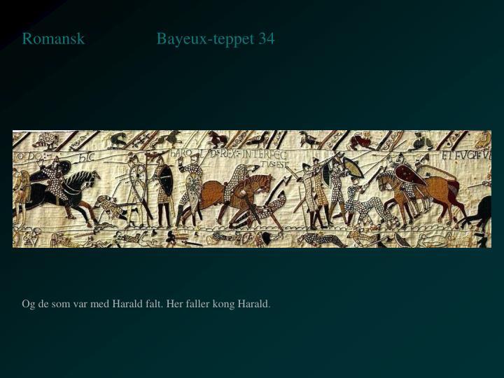 Bayeux-teppet 34