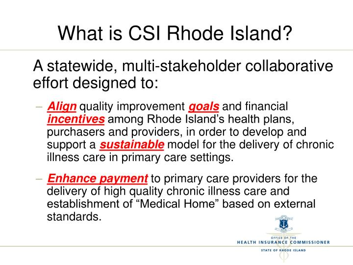 What is CSI Rhode Island?