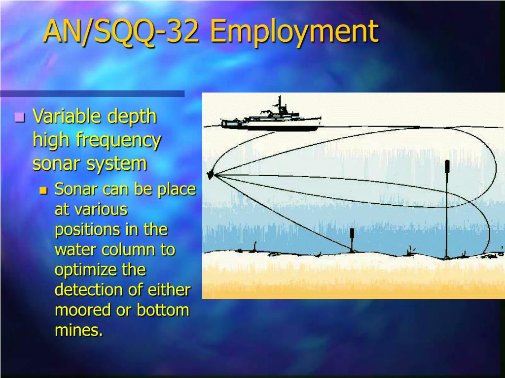 AN/SQQ-32 Employment