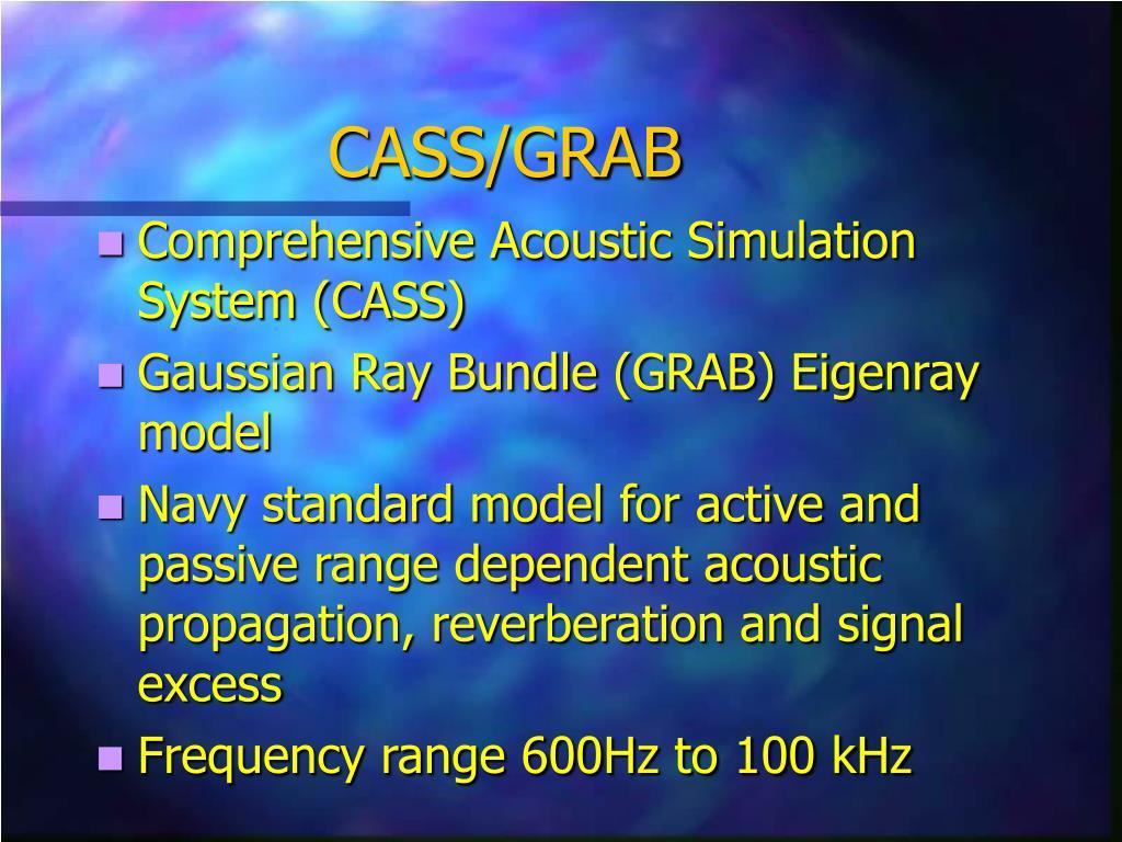 CASS/GRAB