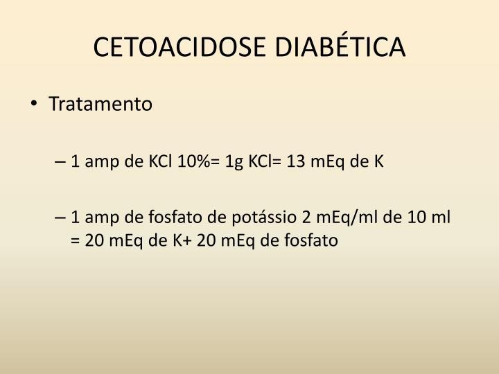 CETOACIDOSE DIABÉTICA