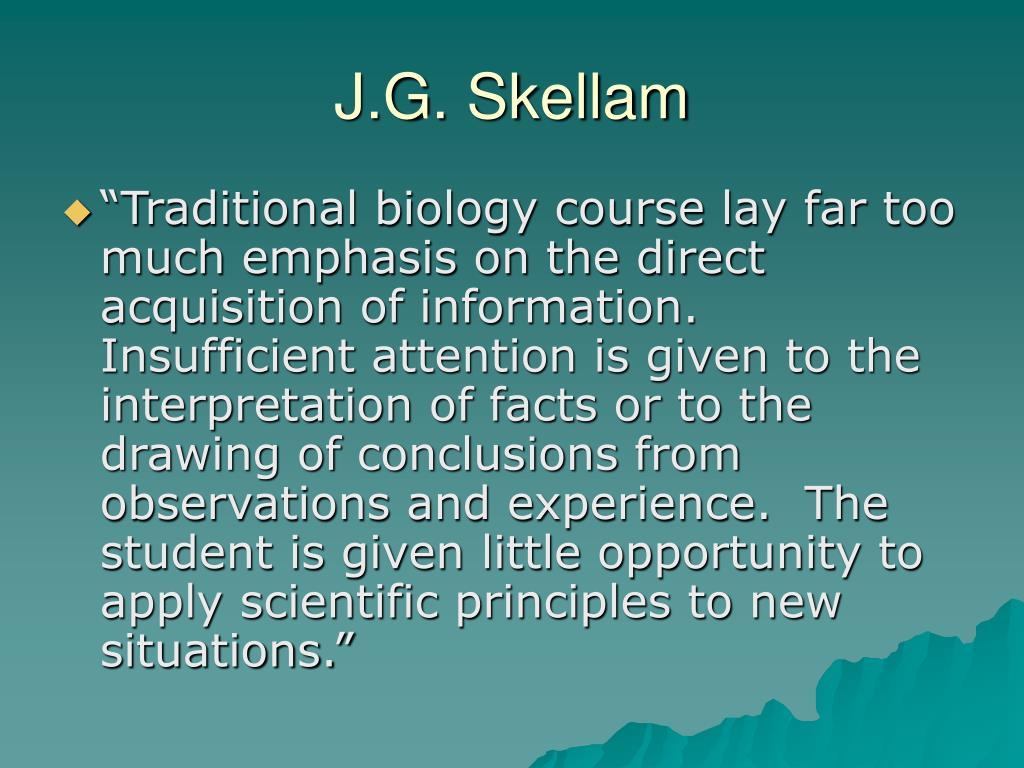 J.G. Skellam
