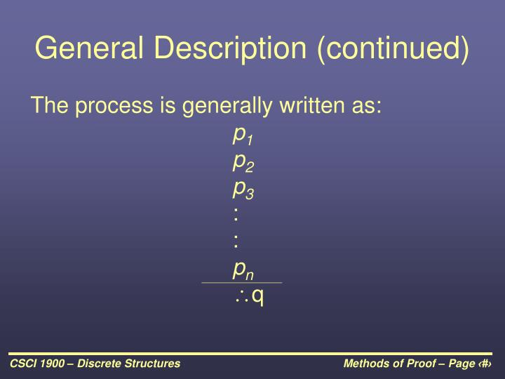 General Description (continued)
