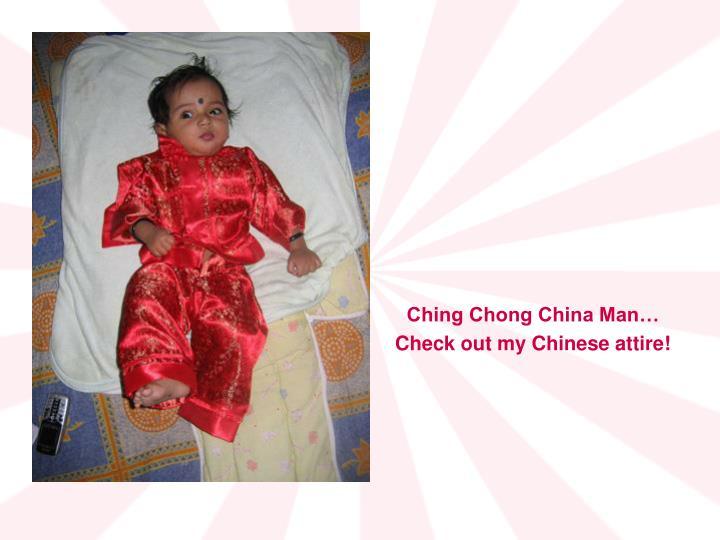 Ching Chong China Man…