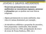 jovens e grupos religiosos1