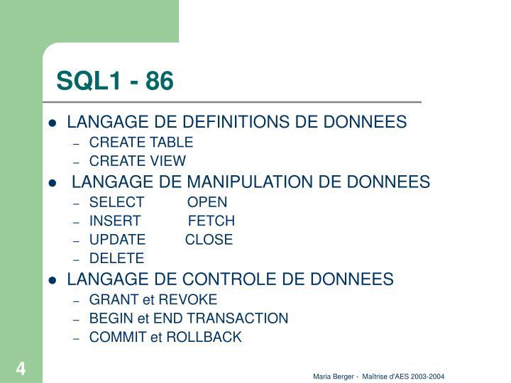 SQL1 - 86