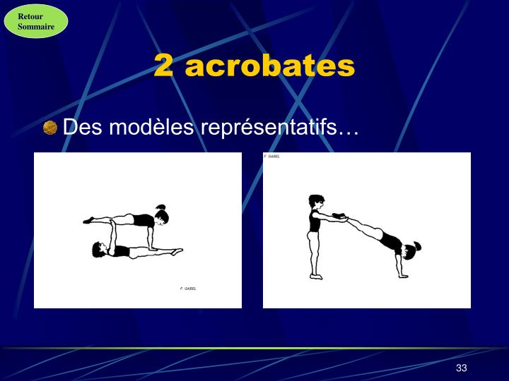 2 acrobates