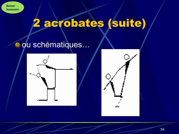 2 acrobates (suite)
