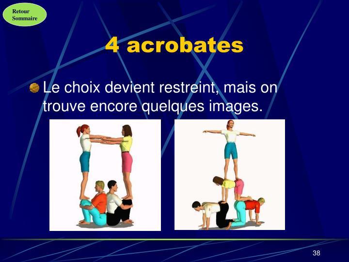 4 acrobates