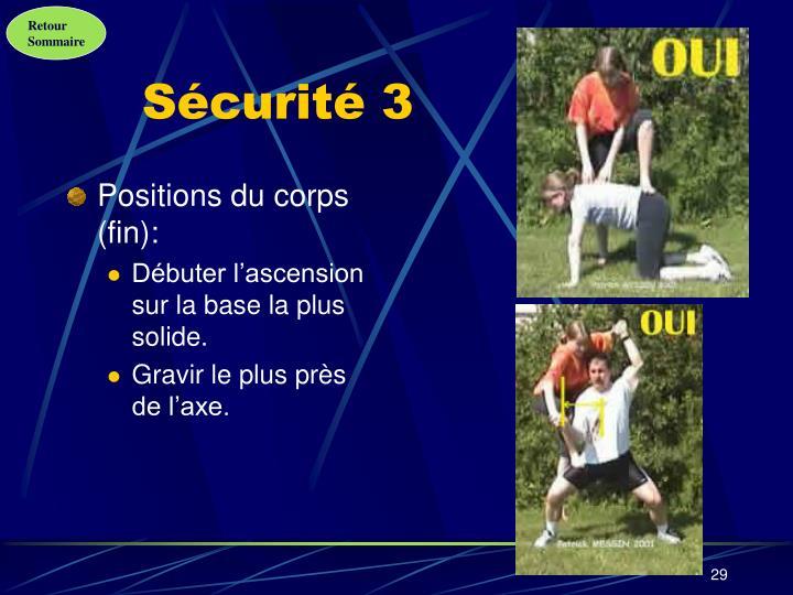 Sécurité 3