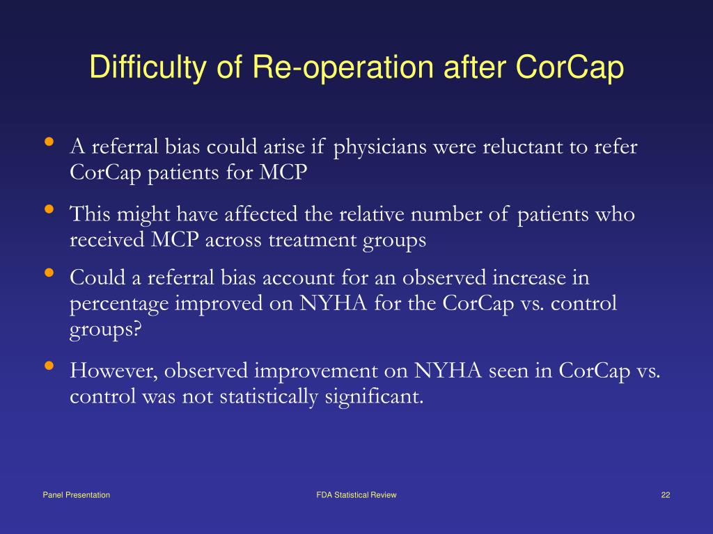 Difficulty of Re-operation after CorCap