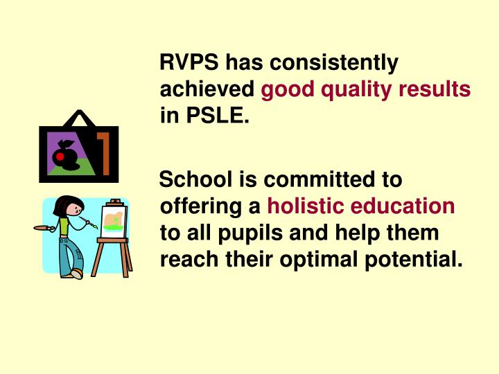 RVPS has consistently achieved