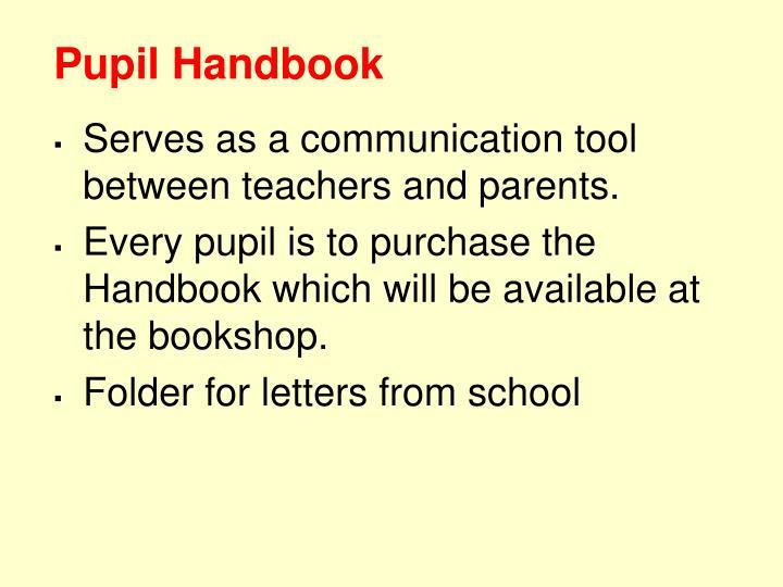 Pupil Handbook