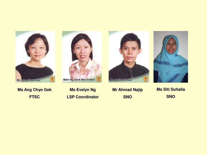 Ms Siti Suhaila