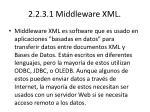 2 2 3 1 middleware xml