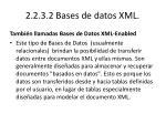 2 2 3 2 bases de datos xml