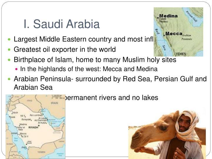 I. Saudi Arabia