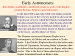 early astronomers1