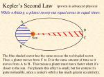 kepler s second law