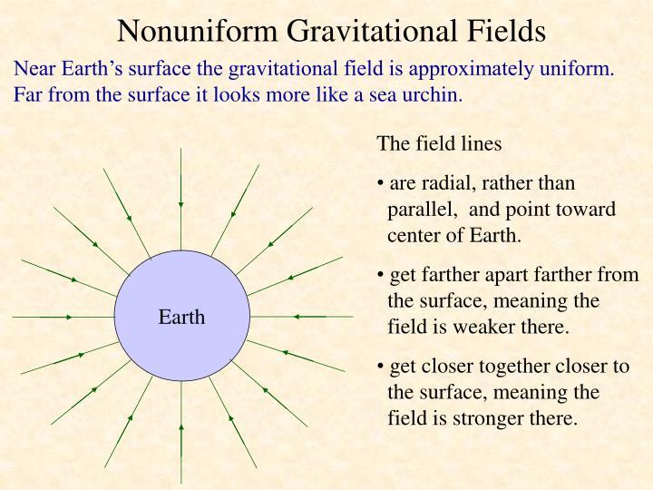 Nonuniform Gravitational Fields