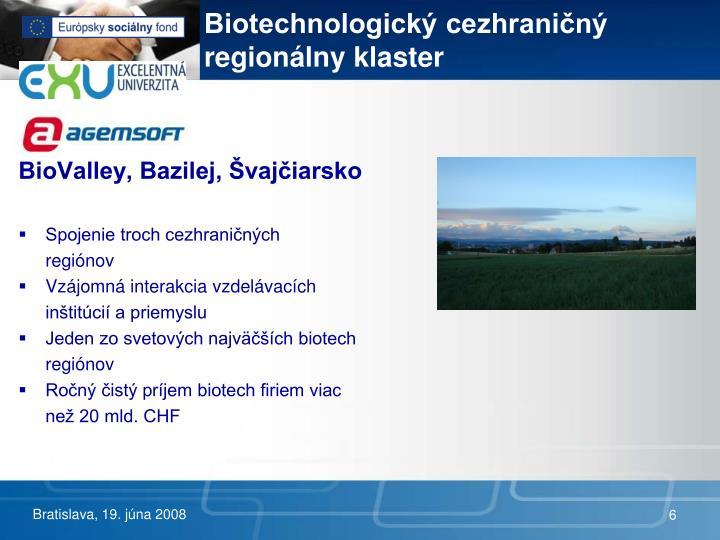 Biotechnologický cezhraničný regionálny klaster