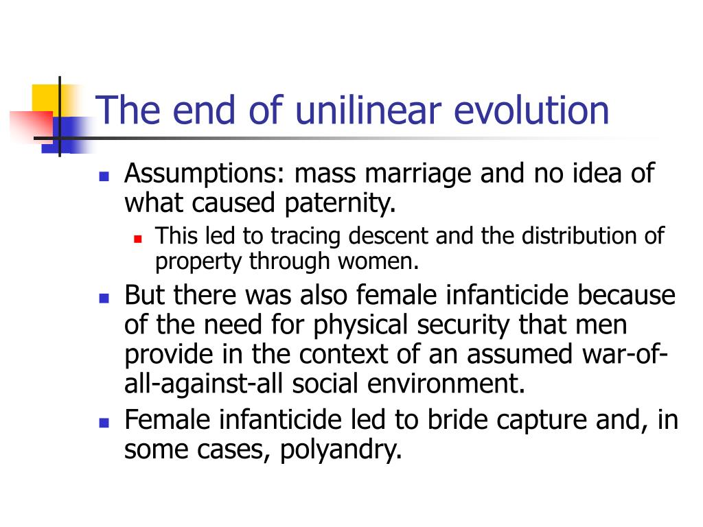 The end of unilinear evolution