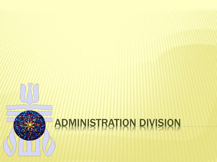 Administration division